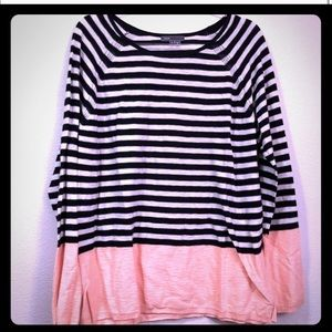 Vince Sweater Large Striped